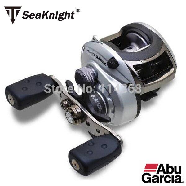 Good Quality Abu Garcia 100% original  SilverMax2 5+1BB 6.4:1 salt/fresh water Baitcasting fishing reel with original Box/Manual
