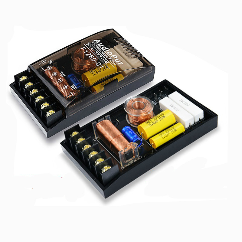 200W 2 way Car Audio Speaker 1/2 Frequency Divider DIY ...