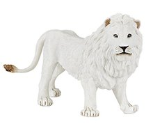 male albino lion simulation Anime models toys hobbies action toy figures anime games birthday gifts