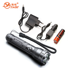 YAGE Cree Flashlight Shock Resistant Flashlight 18650 Powerful Led Flashlight Waterproof Torch Linterna Tactica Lampe Torche