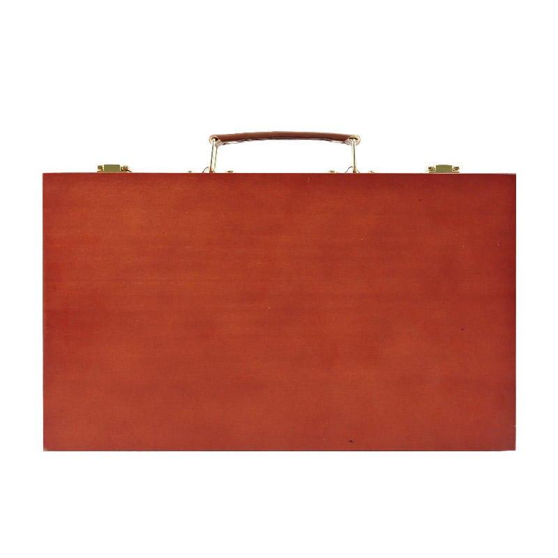 transon fine artist tabletop wooden easel boxplus a square wood box - Tabletop Easel