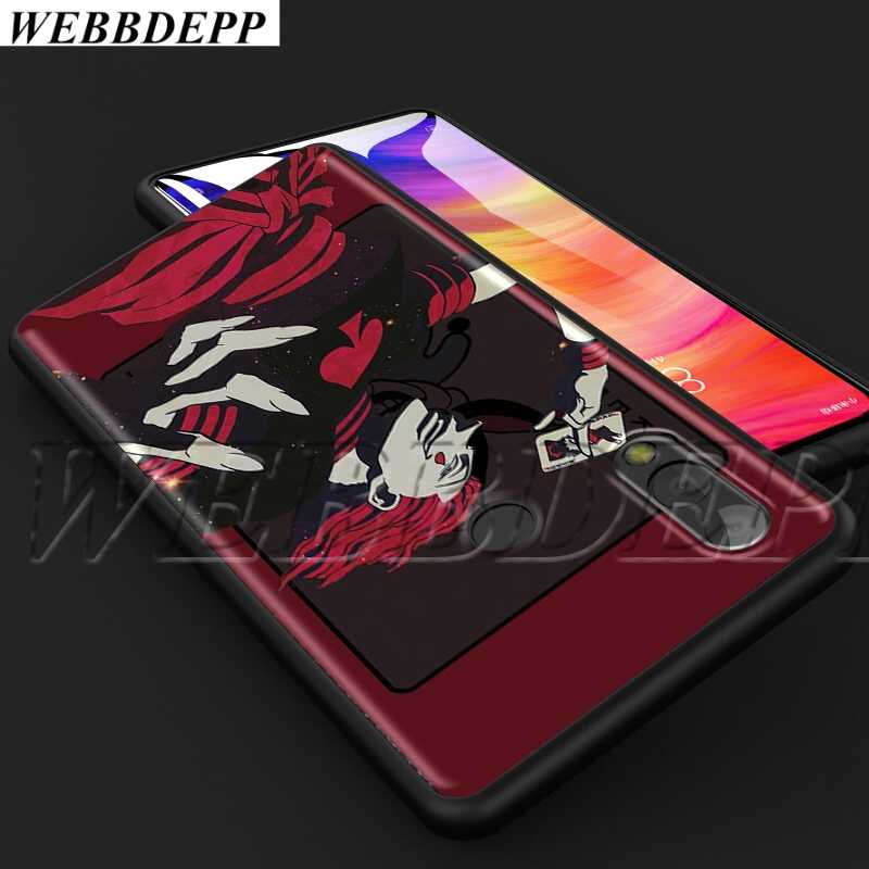 Webbedepp hisoka caçador anime macio tpu caso para xiao mi vermelho mi nota 8t 10 max a1 a2 5x6x3 6 8 9 se f1 lite