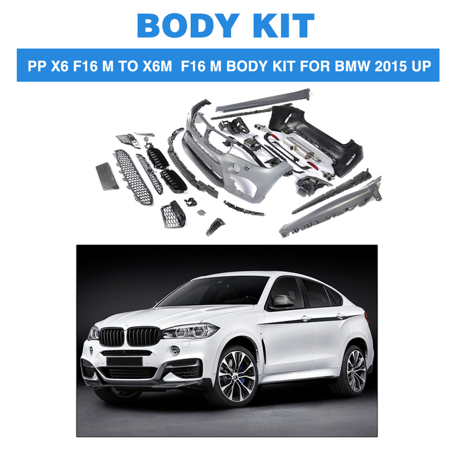 Bmw X6 Weight: PP Front Bumper Rear Bumper Side Skirts Grill Grille Mesh