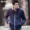 Olrik 2016 New Men Winter Coats Short Slim Men's Clothing Cotton Coat Parkas Winter Jackets Overcoats Nordic Style for Men