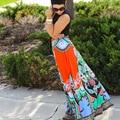 Сари в Индии Полиэстер Настоящее Новое Прибытие Индийские Сари Платья Женщины в Сари, 2016 Этнических Таиланд Ветер Печати Большой Юбка Платье