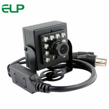 10 pcs IR LED High definition Analog AHD Camera 720P mini box AHD camera for Surveillance security