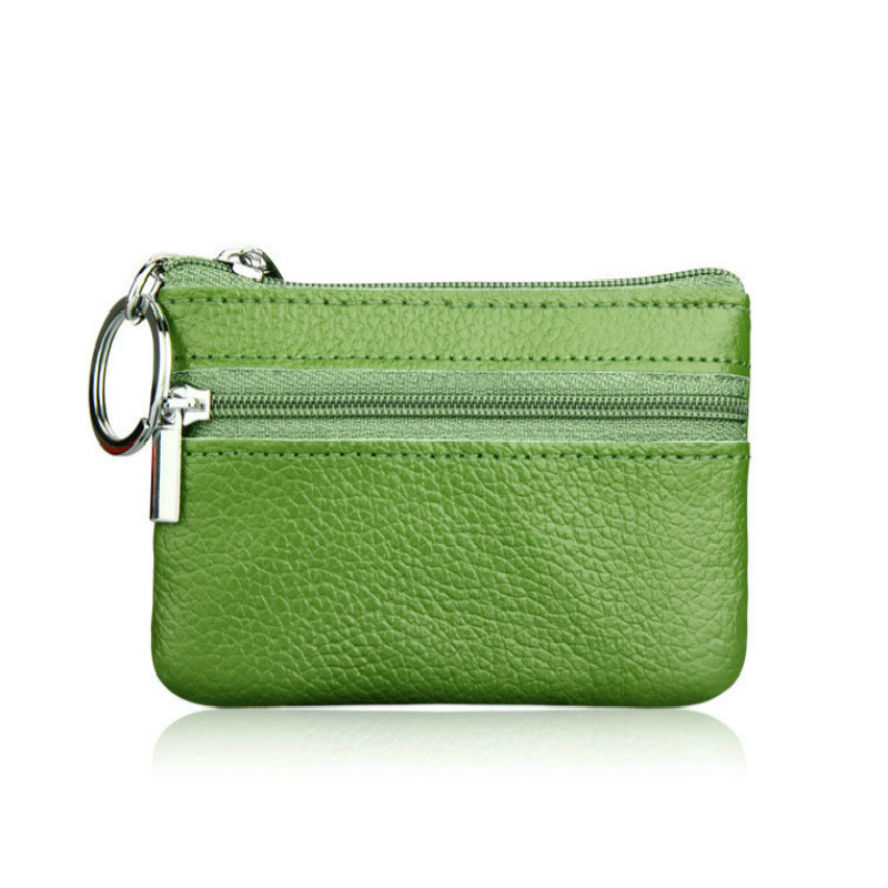 Fashion 100% Genuine Leather Mini Purses Card Package Coin purse Case Holders Wallets Zipper Key Wallet For Women And Men QB101 vintage card holders women wallet clutch wallet womens wallets and purses leather purse for the girls coin purse carteras mujer