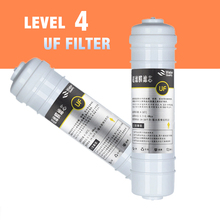 10 Inch Quick Connect UF Filter Cartridge 0.01 micron Hollow Fiber Ultrafiltration Membrane Filter Reverse osmosis