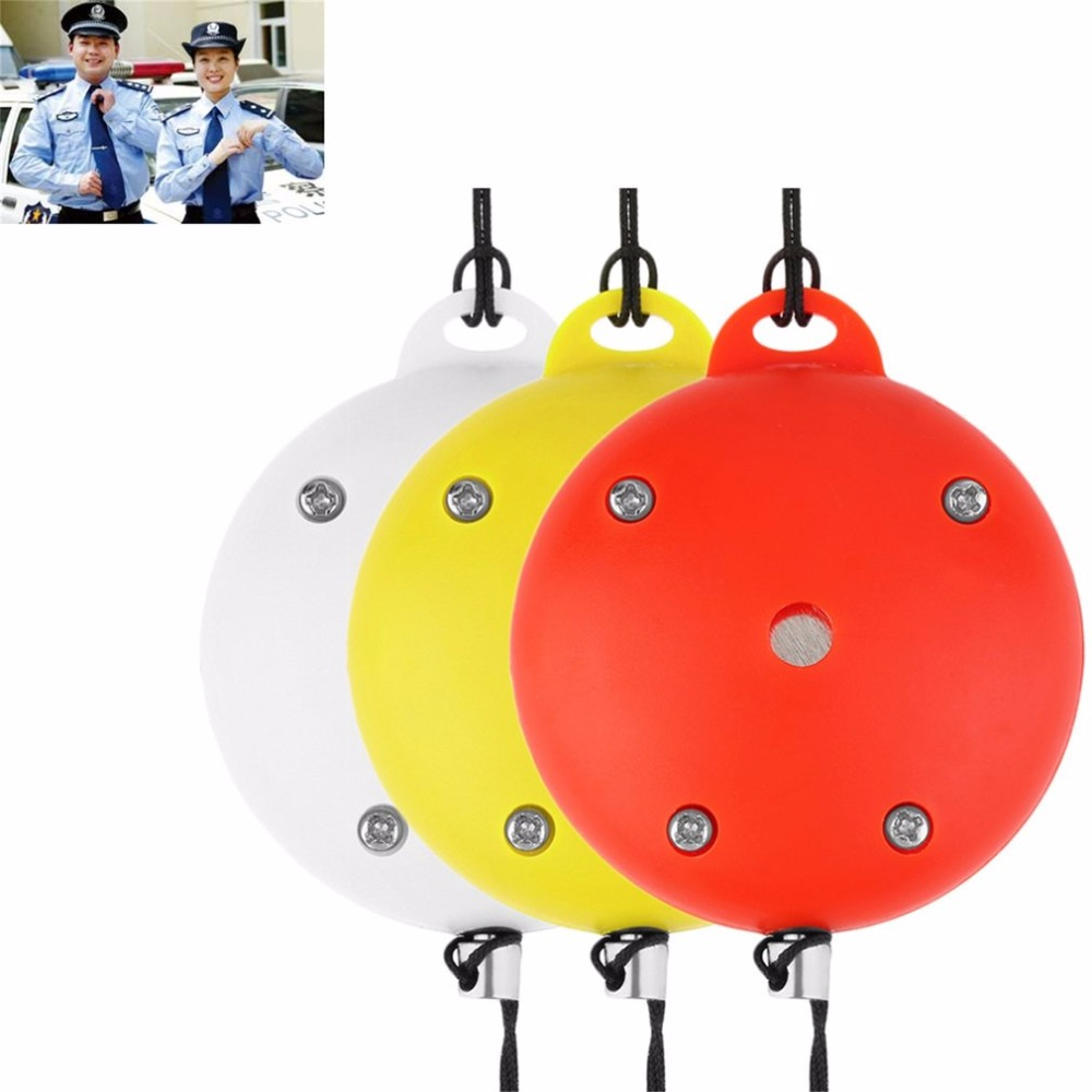 Emergency Siren Alarms Round Electronic Personal Safety Loud Panic Security Keychain Alarm Anti-Rape Anti-Attack Sensors personal guard safety security siren alarm with led flashlight white 2 cr2032
