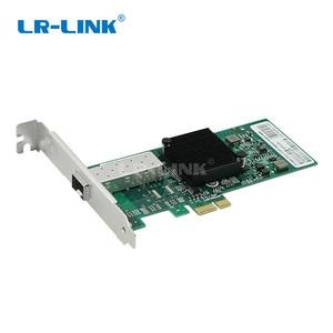 Image 1 - LR LINK 9250PF SFP Faser Optische PCI Express Netzwerk Karte 1000 Mb Gigabit Ethernet Desktop Lan Adapter PC Intel I350 NIC