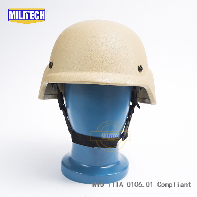 Back To Search Resultssecurity & Protection Steady Militech Od Oliver Drab Pasgt Nij Iiia 3a Full Cut Ballistic Bulletproof Aramid Bullet Proof Helmet With Lab Testing Videos