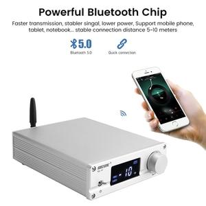 Image 5 - Brzhifi ハイファイ NJW1194 bluetooth 5.0 aptx リモート受信プリアンプ 5 方法ロスレスハンドオーバプリアンプと高音低音 led disply
