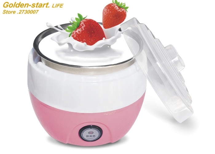 Multifunction Yogurt Machine Mini Automatic Yogurt Maker 1L Capacity Iogurte Multivarka Electric Kitchen Appliances Breakfast salter air fryer home high capacity multifunction no smoke chicken wings fries machine intelligent electric fryer