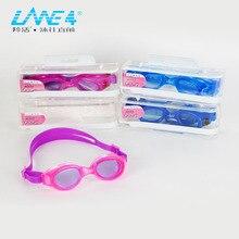 LANE4 плавательные очки Анти-туман УФ Защита Водонепроницаемый легкий Триатлон открытая вода для женщин A333# очки