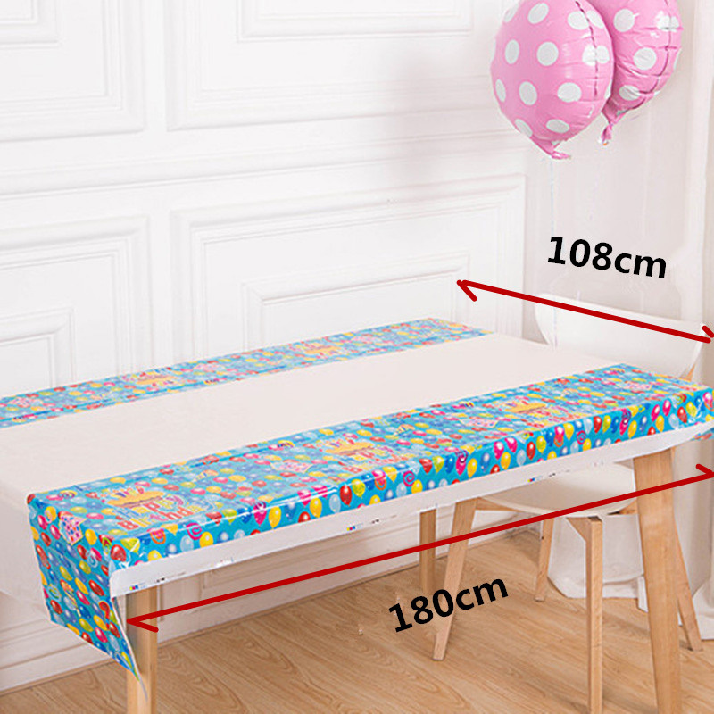Disposable Table Cloth Cartoon Happy Birthday Party Table Cover Mickey  Princess Crown Table Cloth Event U0026 Party Supplies On Aliexpress.com |  Alibaba Group