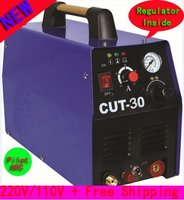 Untouch Cut Technology 220V 10V Dual Voltage Regulator Inside Pilot Arc Inverter DC Plasma Cutting Tool