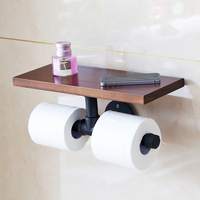 Industrial Style Bathroom Paper Towel Holder Vintage Toilet Paper Towel Toilet Toilet Paper Holder Hand Tray
