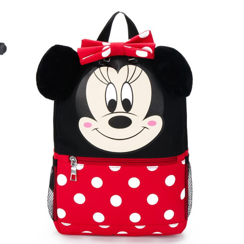 Cartoon mickey kids bag children backpacks kindergarten backpack kid school bags for boys and girls free shipping