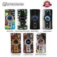 Оригинал 200 Вт Vsticking VK530 TC Box MOD с чипом YiHi SX530 и системой SXi-Q питание 18650 Батарейный мод для электронных сигарет Vs люкс мод/Drag 2