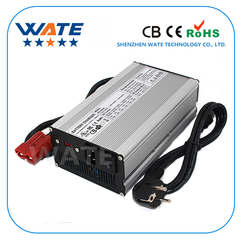 24V 17A Lead Acid Battery Charger High Frequency for 24V Lead Acid Negative Pulse Desulfation lcd screen high frequency intelligent caricabatteria 24v 35a battery charger