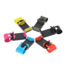 Hot High quality1pcs Car Steering Wheel Mount Holder Rubber Band For iPhone For iPod MP4 GPS Mobile Phone Holder Promotion