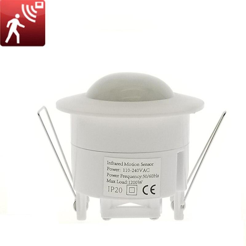 Mini Adjustable Sensor Lamp Switch 360Degree Ceiling PIR Infrared Body Motion Sensor Detector Lamp Light Switch 110V 220VMini Adjustable Sensor Lamp Switch 360Degree Ceiling PIR Infrared Body Motion Sensor Detector Lamp Light Switch 110V 220V