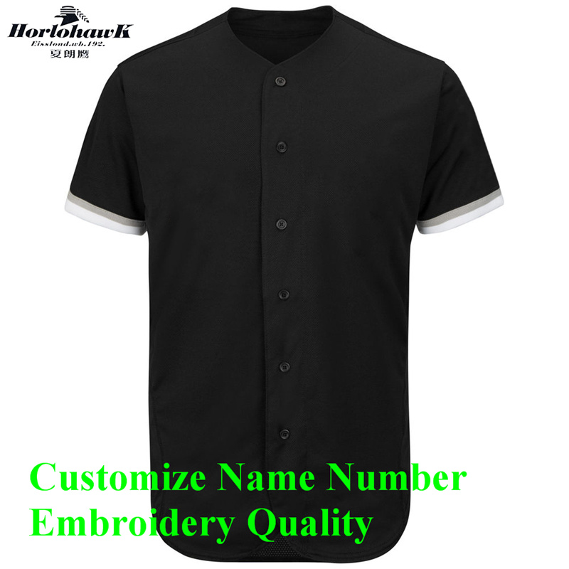 Personalized Baseball Jersey Custom Name Number Logo Embroidery Quality US Size Men's Grey Black White Stripes Jersey цена