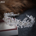 JINSE Fashion princess diadem clear crystal crown Nice rhinestone bridal tiara best gift for bride hair accessories CR158