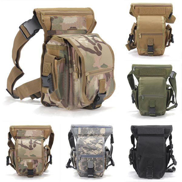 Hot Sell Outdoor Military Tactical Weapons Waist Pouch Leg Sport Ride Special Bag Waterproof Thigh Drop Multipurpose Utility Bag