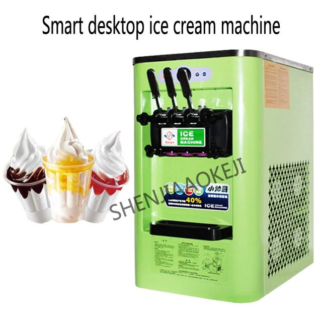 Ice cream maker 5.7L*2 Commercial automatic yogurt ice cream machine 3 flavors Small soft ice cream machine 220V/110V