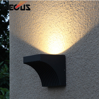 Led outdoor stairway lamp modern simple exterior durable wall sconce villa patio balcony corridor bra street garden wall light