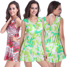 SWIMMART New Arrival Deep V Neck Sexy Stretch Mesh One Piece Dress Multi - Occasion Beach Sarongs S.M.L.XL