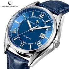 Pagani Mecânica Mens Relógios de marca de Moda de luxo militar Automático Masculino relógio de pulso de Couro Clássico Esportes Relogio masculino
