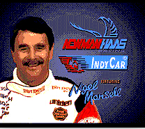 Newman Hass Indy Car Racing 16 bit MD Game Card For Sega Mega Drive For Genesis