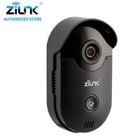 ZILNK Video Citofono HD 720 P WIFI Campanello Camera Home di Sorveglianza di Visione Notturna Citofono Senza Fili Senza Coperta Campana Nero