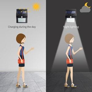 Image 4 - Luminária led portátil para parede, sensor de luz solar, para acampamento, barraca, lanterna led noturna, para jardim, para estrada, à prova d água, para áreas externas
