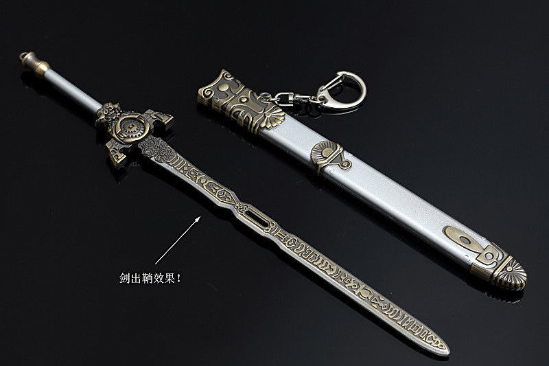 """1//6 Ancient Metal Sword Scabbard Model Weapon Toy for 12/"""" Action Figure Doll New"""