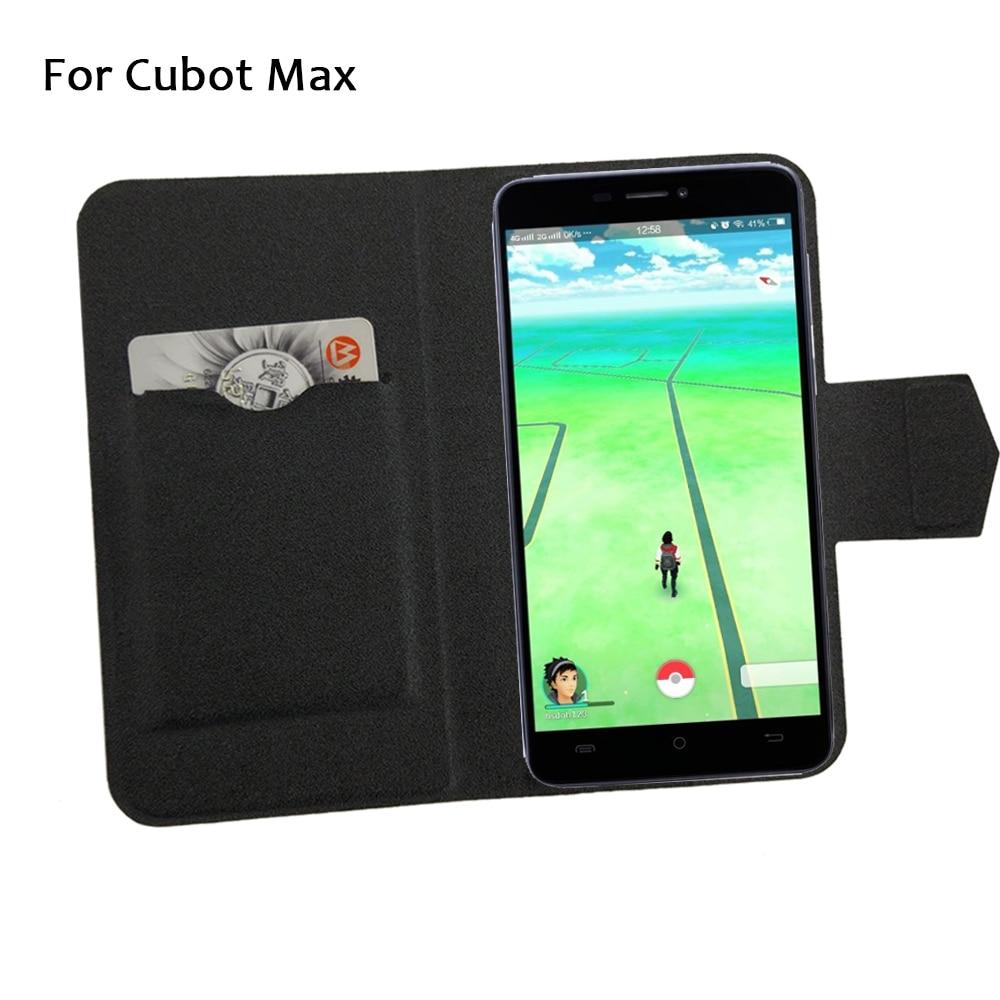 5 boja vruće! Cubot Max telefon torbica od kože, 2017 tvornička - Oprema i rezervni dijelovi za mobitele