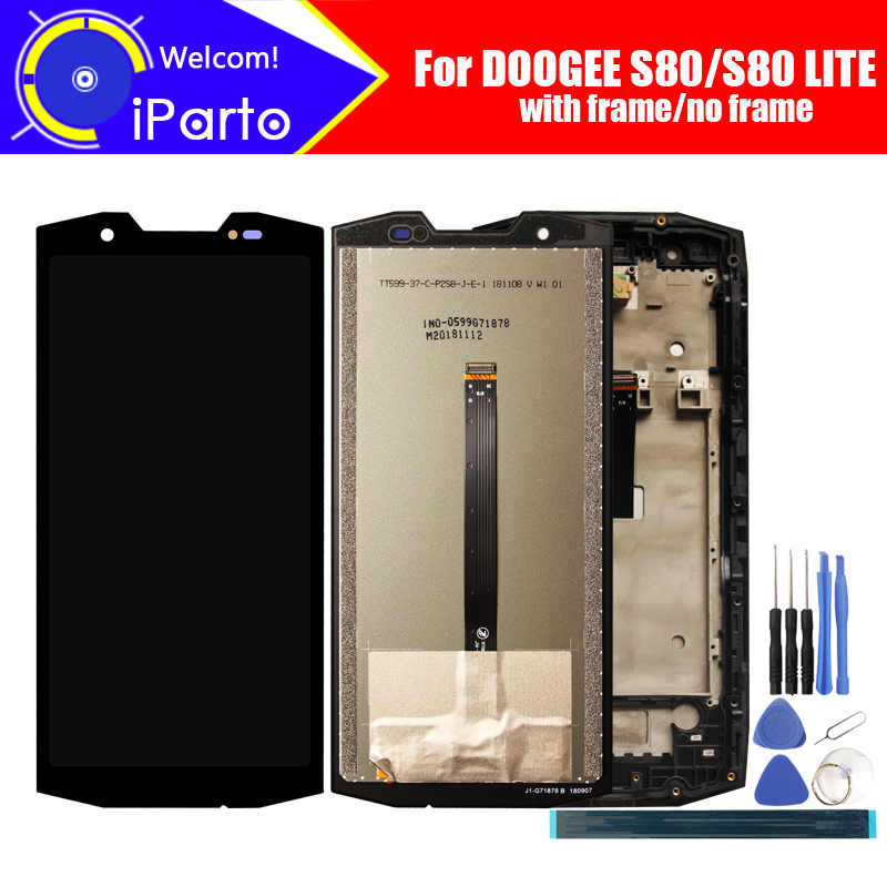 5 99 inch DOOGEE S80 LCD Display Touch Screen Digitizer Assembly 100 Original LCD Touch Digitizer