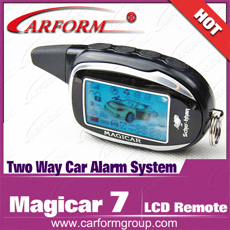 New Arrival Magicar 7 Lcd Pager For Scher Khan Magicar 7