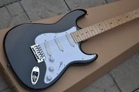 black Eric Clapton signature maple fretboard 6 string Chrome Hardware Electric Guitar free shipping