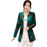 Festival africano mulheres balzers casuais jaquetas moda casacos longo-design de estilo de impressão africano dashiki casacos de roupas áfrica