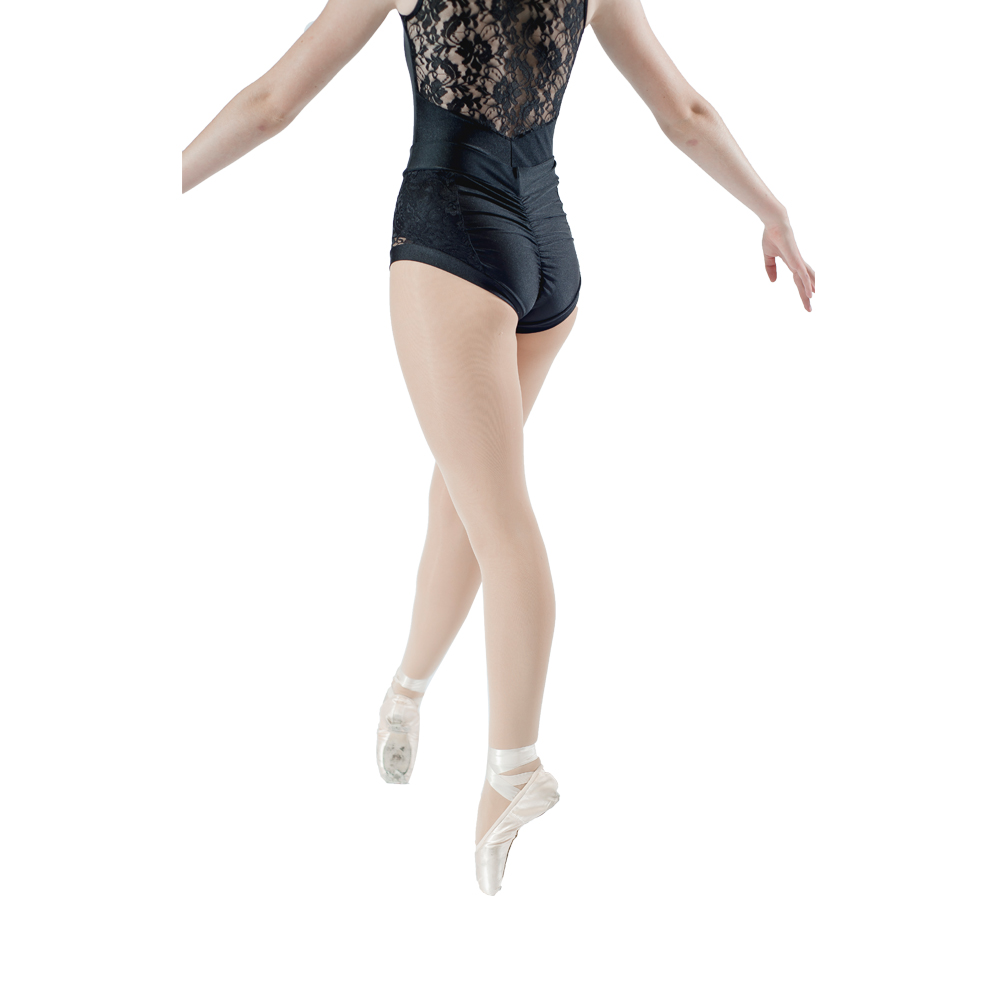 Dancers Choices Black Lace Hot Shorts Pole Dancing Pants Yoga High Waisted Underwear ROLLER DERBY Beach Dancewear