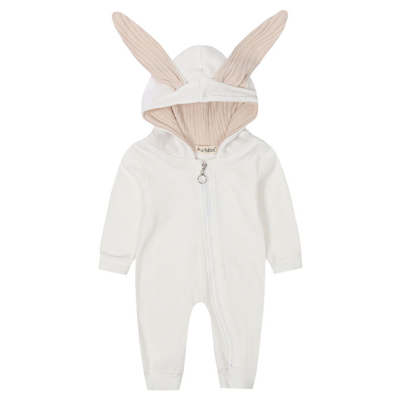HTB1wjVhaUY1gK0jSZFMq6yWcVXar New Spring Autumn Baby Rompers Cute Cartoon Rabbit Infant Girl Boy Jumpers Kids Baby Outfits Clothes