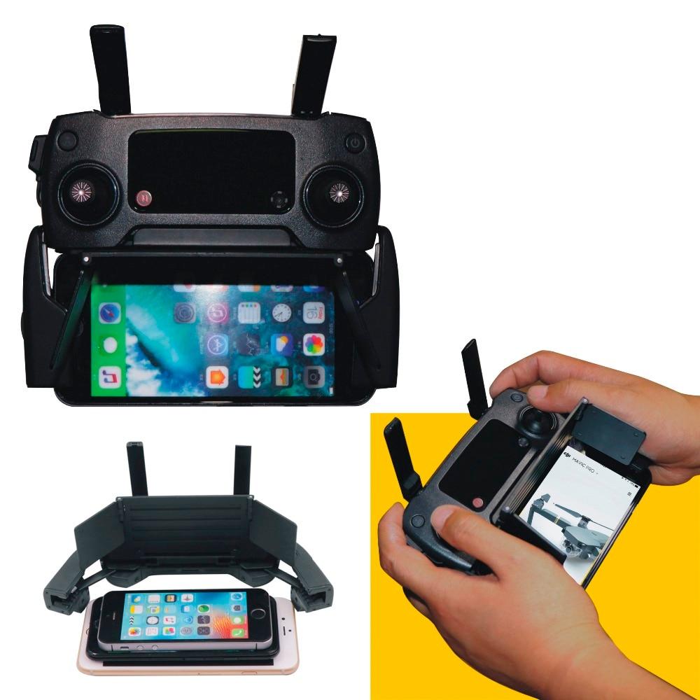 4.7-5.5in Phone Sun Hood Folding Sunshade Shade For DJI Mavic Pro Spark Mavic Air Mavic 2 Zoom Pro Drone Controller Accessories