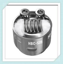 HBC – S09 Coil for Geek Vape Eagle electronic cigarette Tank-2Pcs/tube 0.3ohm wattage 40w-70w KA1 material