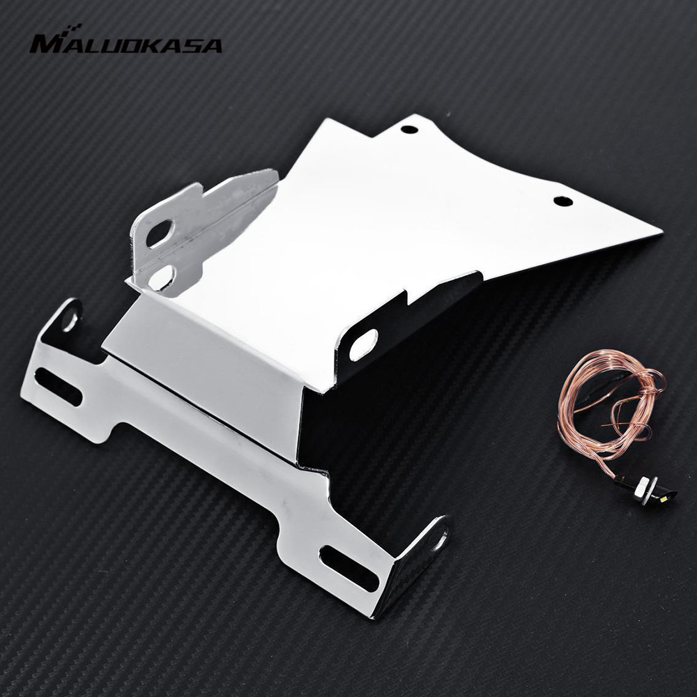 MALUOKASA Motorcycle Tail Tidy Fender Eliminator For <font><b>Yamaha</b></font> FZ6 2006 2007 2008 License Plate Holder Motorbike Accessory Parts