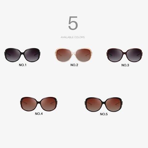 AEVOGUE Polarized Sunglasses Women Oversize Vintage Shield Frame Classic Brand Designer Sun Glasses UV400 AE0691 Islamabad