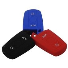 Remote 3 Buttons Smart Car Key Case Cover  For BMW 1 5 6 Series E90 E91 E92 E60 Holdert