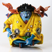 ONE PIECE Statue POP Seven Warlords Of The Sea Sitting PVC Action Figure Collectible Model Toy Box